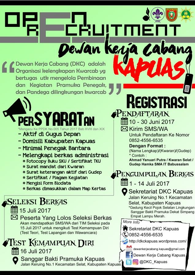 Selebaran Open Recruitment (New)